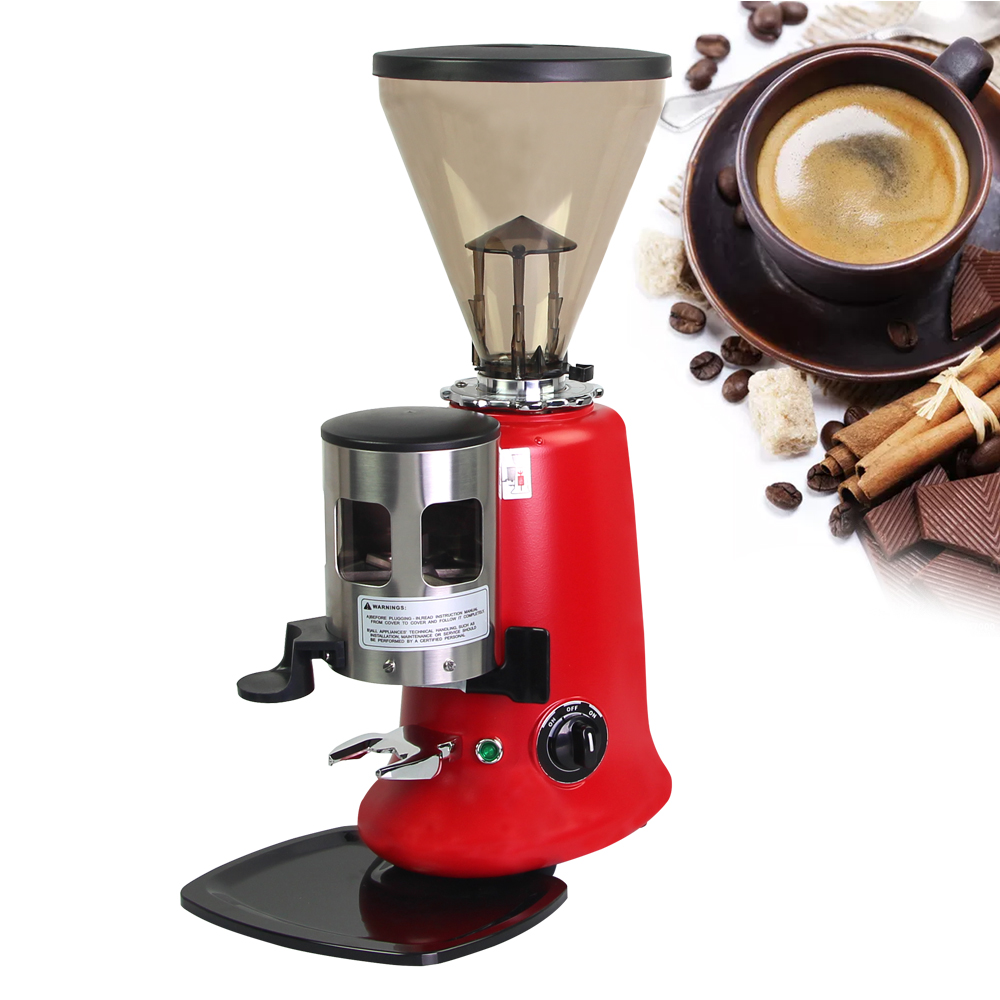 Commercial Electric Houshold Conical Burr Coffee Grinder High Quality Coffee Appliance Advanced Grinding System mdj d4072 professional commercial household coffee grinder high quality electric coffee machine advanced grinding 220v 150w 30g page 7