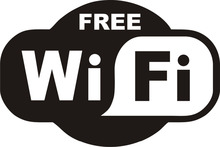1pcs Black FREE WiFi VINYL Sticker Sign Window Cafe Restaurant Bar Pub Shop Internet Store Glass Door Windows Wall Decals D748