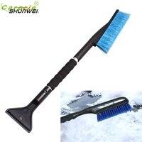 Pretty Car Vehicle Snow Ice Scraper SnoBroom Snowbrush Shovel Removal Brush Winter Or19