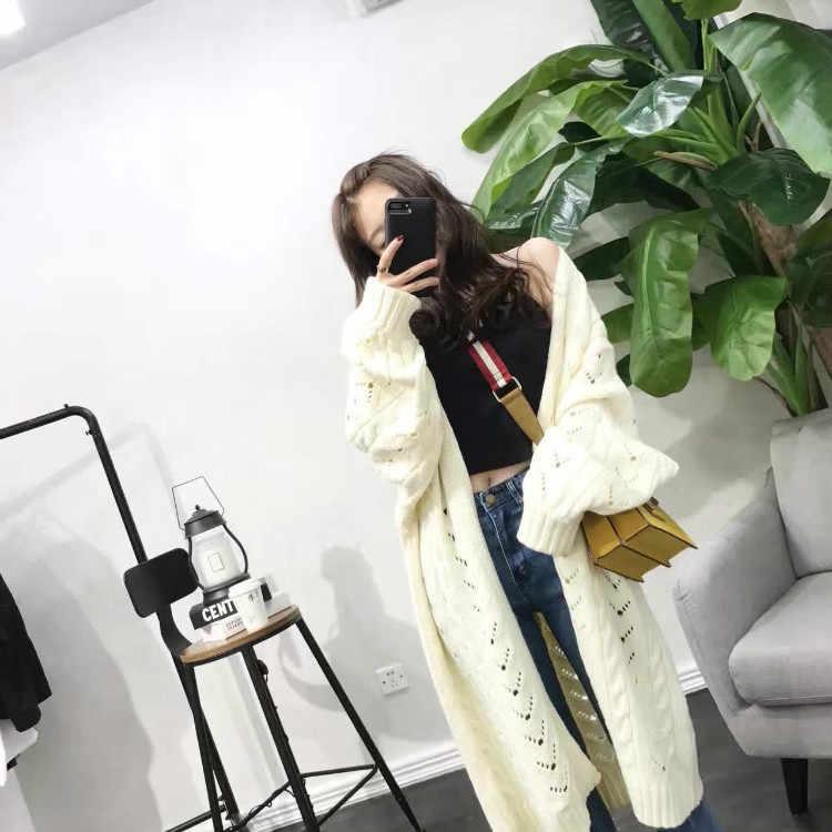 אביב סתיו קרדיגן מעיל סוודר נשים בגדי 2019 קוריאני בציר חולצה נשים חולצות Casaco Feminino ZT2996