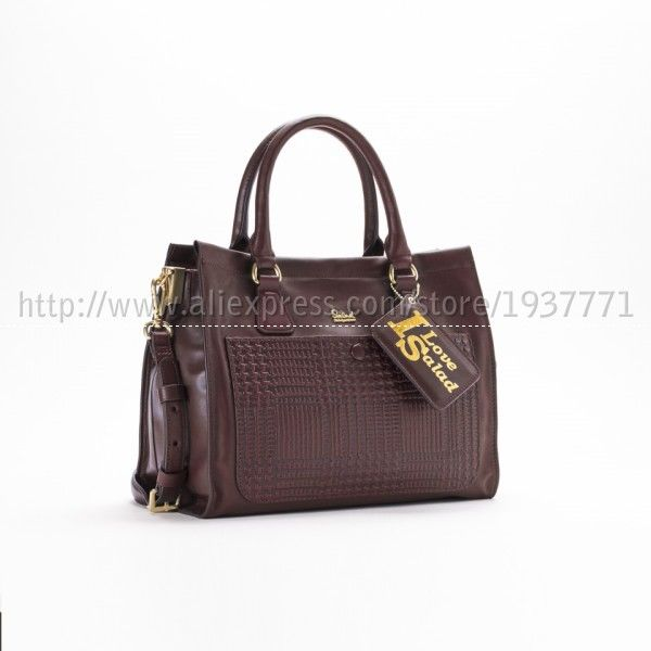 Salad Houthstooth Top Handle Bag Shoulder Handbags Fashion Women Hong Kong To And Mail In Bags From Luggage On