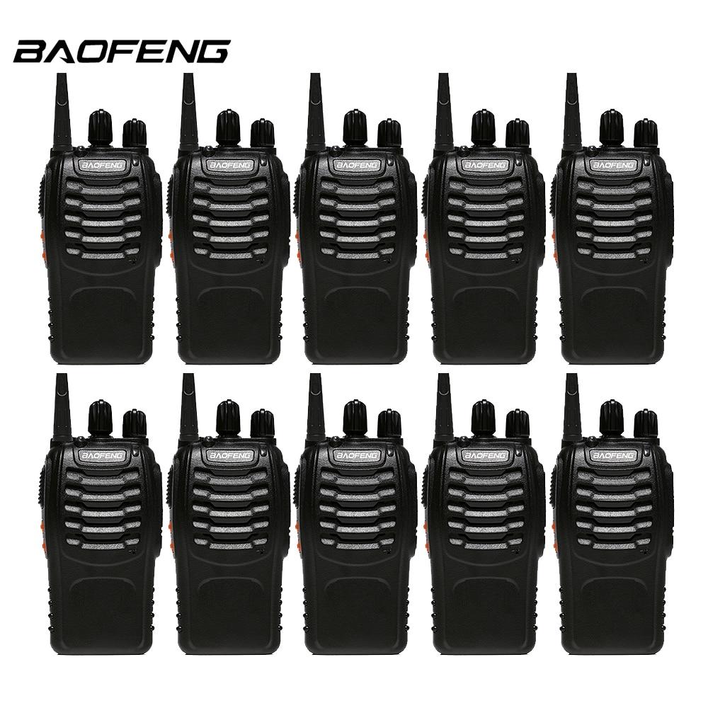 imágenes para 10 unids/lote Baofeng 888 s del Walkietalkie De UHF 400-470 MHz 16 CH Radio de Dos Vías baofeng Portátil bf 888 s Radio CB