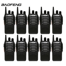 10 pièces/lot Baofeng 888s talkie-walkie pour UHF 400-470MHz 16 CH Radio bidirectionnelle Portable baofeng bf 888s CB Radio(China)