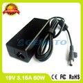 19 В 3.16A 60 Вт ноутбук адаптер переменного тока для Samsung зарядное устройство R480J R480L R481 RC408 RC410 RC420 RC418 RF409 RF410 RF411 RV408 RV409