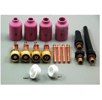 After Quality Inspection TIG Torch Accessories Kit Cutting Torch Consumables Kit Great Promotions DB WP17 18