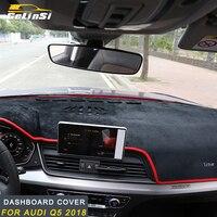 Gelinsi For Audi Q5 2018 Car Auto dashboard cover sunshine visor trim