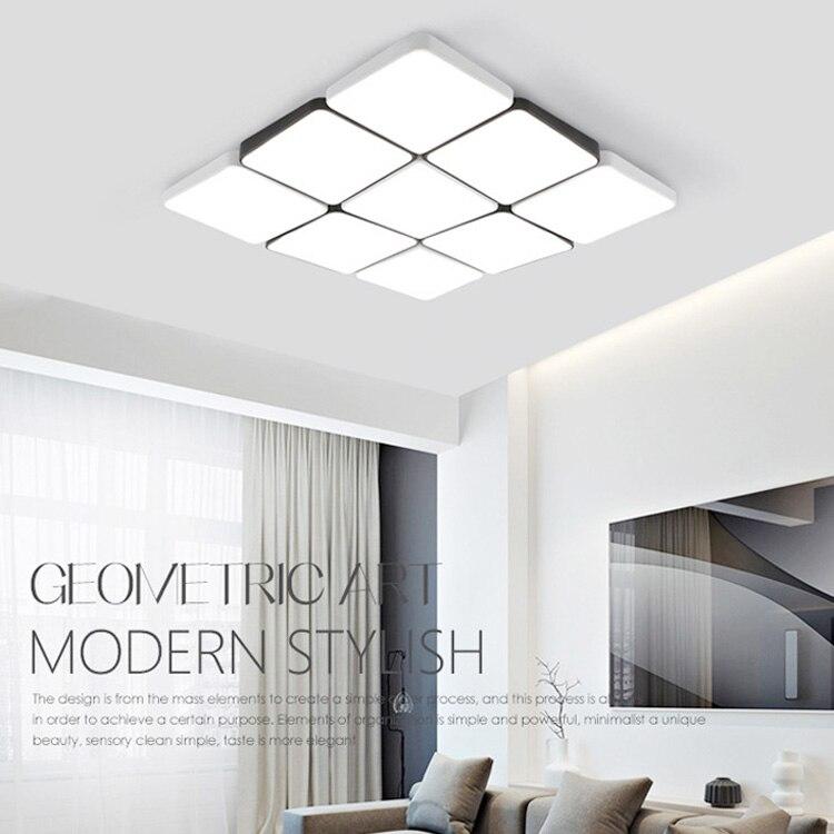 White Black Ceiling Light Creative Metal Ceiling Light