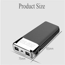 Qi Wireless Charger Power Bank 10000mAh Portable Mobile Phone Charger 2 usb Fast Wireless Charging Powerbank for Phones Tablets