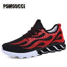 Men Running Shoes Men Sport Sneaker Athletic Shoes Zapatillas Outdoor Breathable Original For Hombre Male outdoor athletic shoes