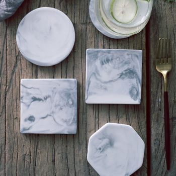 Marble Pattern Ceramic Coasters 1