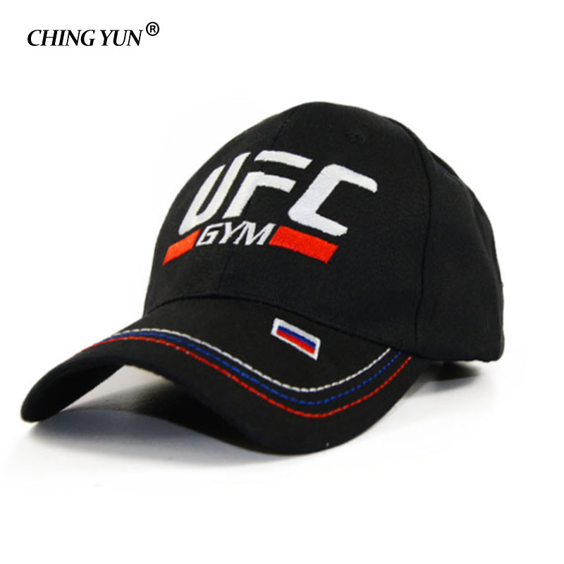 Summer Sports   Baseball     Cap   Russian UFC Embroidered Casquette High Quality Snapback hat Unisex Leisure Hat Outdoor casual   cap