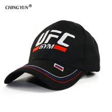 Gorra de béisbol deportiva de verano rusa UFC bordada casqueta de alta calidad Snapback sombrero de ocio Unisex gorra casual al aire libre