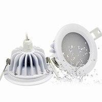 IP65 עמיד למים LED Downlight 5 W 7 W 9 W 12 W 15 W אור ספוט שקוע תקרה עמיד למים עבור חדר רחצה 4 יח'\חבילה