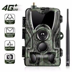 Image 1 - Goujxcy HC801LTE 4 グラム MMS/SMS/SMTP/FTP 狩猟トレイルカメラ 16MP 64 ギガバイトナイトカメラ 0.3 秒トリガー野生カメラ写真トラップのための動物