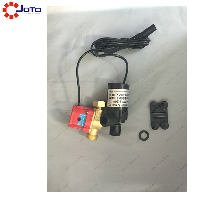 High Head Brushless DC 12V/24v Automatic Bath Water Booster Pump ...
