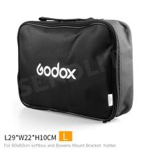 Новый Godox L29xW22xH10cm сумка для 60×60 см 24*24 Дюймов Софтбоксы кронштейн держатель
