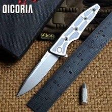 Dicoria Энди 703 S оригинальный S35VN лезвие титановая ручка Флиппер складной нож Охота дрели, пилы Кемпинг Тактические Ножи EDC инструменты