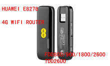ปลดล็อคหัวเว่ยE8278s-6024g e8278s 150 Mbpsโมเด็ม4กรัมWifiเราเตอร์4กรัม3กรัมWifiโมเด็มLTE Cat4 Wi-Fi Dongle pk E3276 E8372 e5776 e589