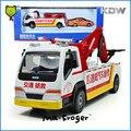 Mr. Froger Carretera Grúa Modelo De Camión de aleación modelo de coche de Ingeniería de vehículos de Construcción de camiones de metal Refinado Intermitente Juguetes Musicales