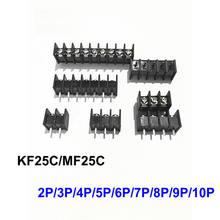 Kf25c mf25c 762 мм picth барьер клеммные разъемы черный пролив
