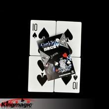 Большая лопата 10 карт фокусы реквизит игрушки крупным планом уличная магия