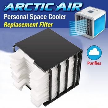 20 Pcs Air Personal Space Cooler Replacement Filter Personal Space Cooler for USB Air Cooler Filter Fans