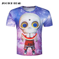 Hot Unique Summer 3D T shirt Men T-shirt Galaxy Planet Alien Male Print Short Sleeve Casual Tops Mens Tee shirts
