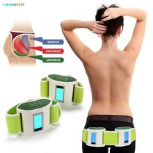 2018 Emagrecedor Infrared Emr Vibration Muscle Flex Technology Toning And Slimming Belt Kit - Relaxing Butt Firming Therapy