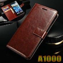 Lenovo a1000 case capa flip de couro de luxo sacos de telefone para lenovo a1000 1000 negócio ultra fino carteira sacos de telefone caso cobrir