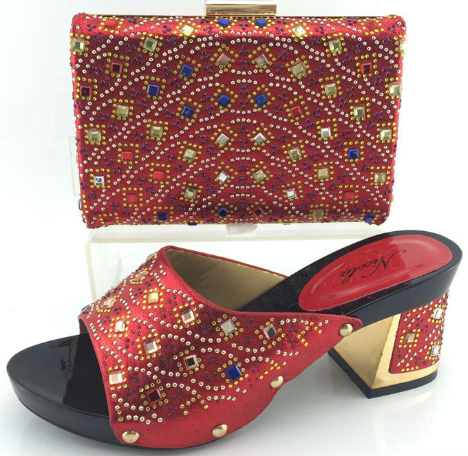 Top quality african shoe and bag set for party ME3319 italian shoe with matching bag new design ladies marching shoe and bag