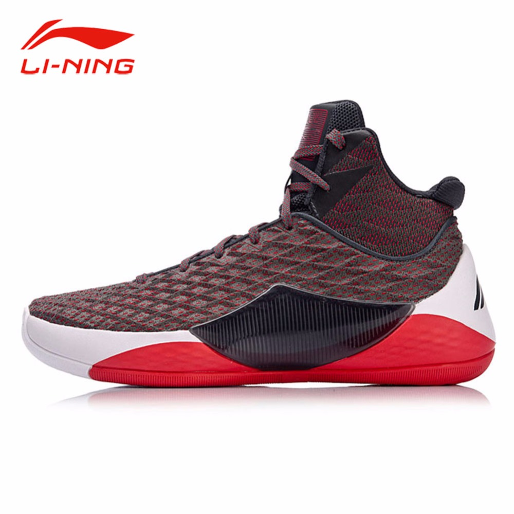 Li-Ning Men Professional Competition Basketball Shoes SHADOW WALKER 2018 LiNing Cloud Cushion Stability Sports Sneakers ABAN019 li ning men s professional basketball shoes speed
