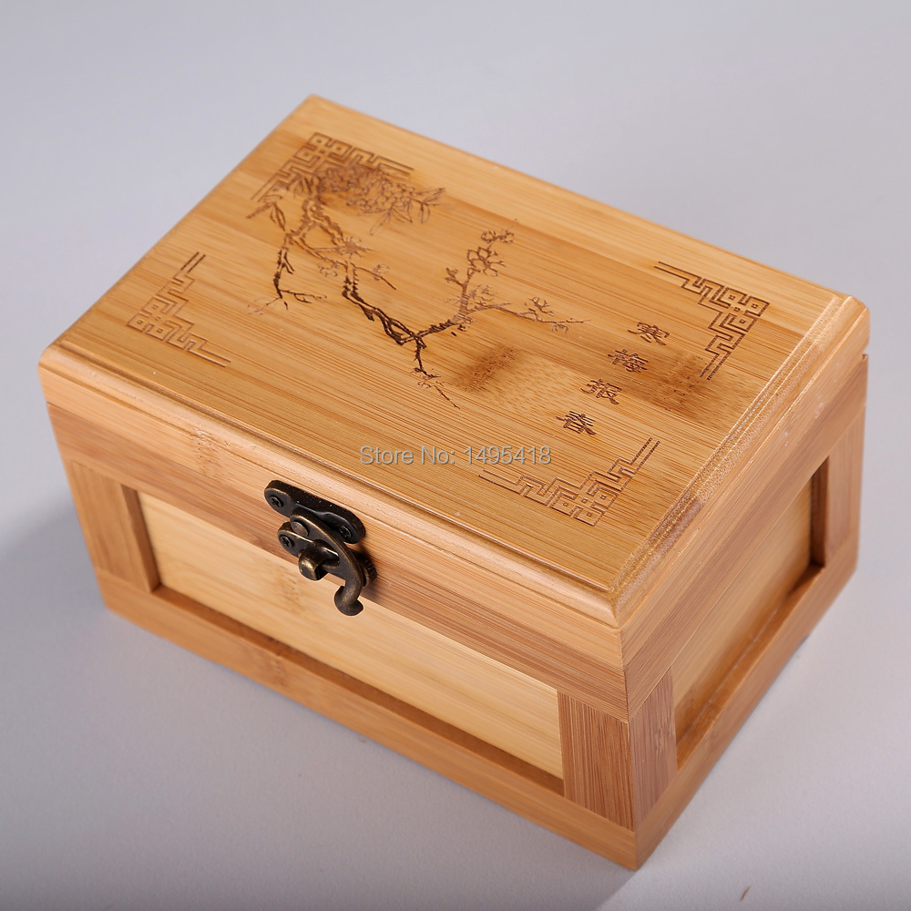 The New Korean Princess Jewelry Box Bamboo Storage Box