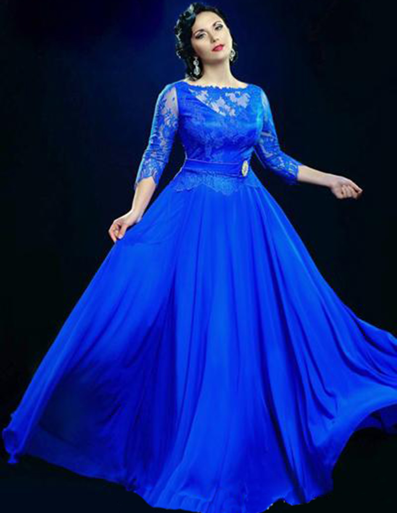 Royal blue evening dress under 100