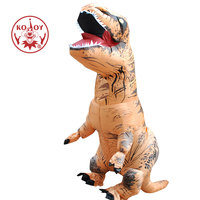 Adult White INFLATABLE Dinosaur T REX Costume Blowup Dinosaur Halloween Inflatable Costume Halloween Costumes For Men