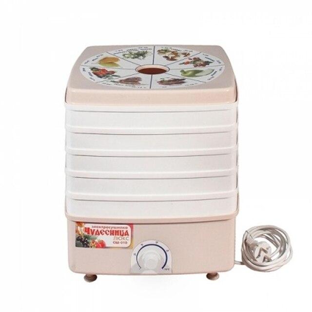 Сушилка электрическая Помощница СШ-010 (Мощность 520 Вт, 5 ярусов , объем 20 л, регулируемая температура в пределах 20–70 °C)