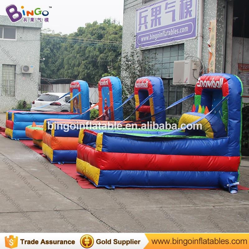 Fabriek te koop 1.3x2.5x2 meter opblaasbare mini draagbare basketbal game speelgoed - 5