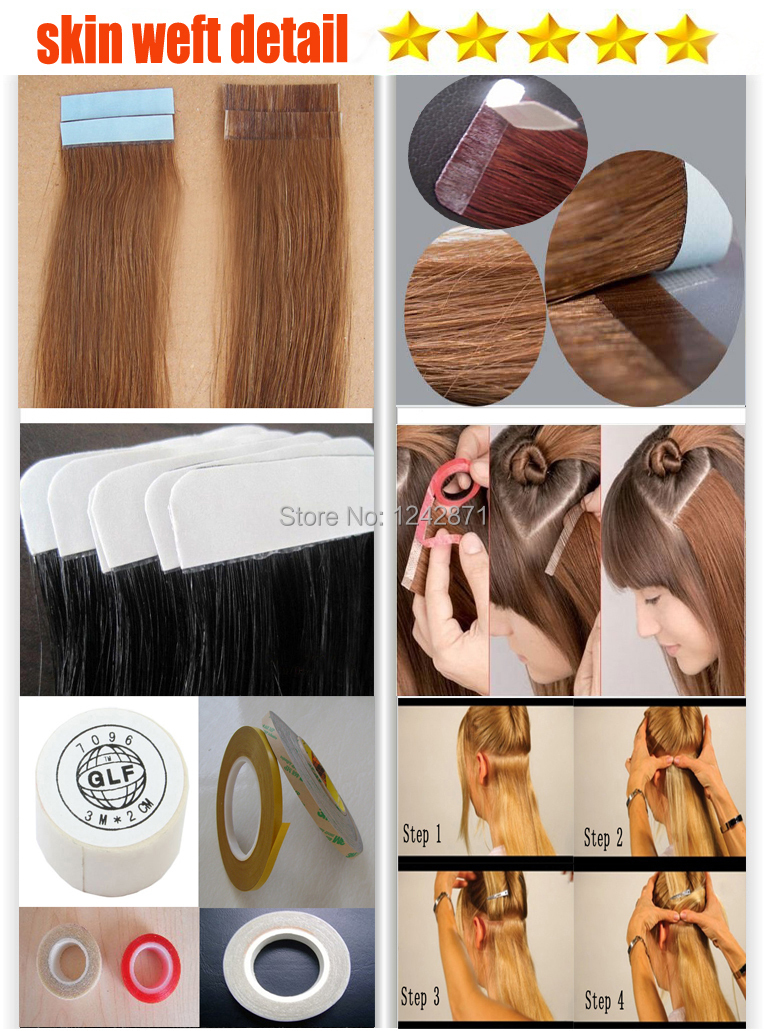 Slap Up Diy 40 Pieces Remy Tape Hair Extensions Brazilian Straight