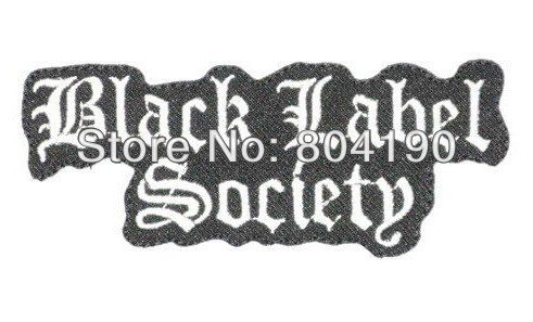 BLACK LABEL SOCIETY Music Band LOGO Embroidered NEW IRON ON and SEW ON Patch Heavy Metal