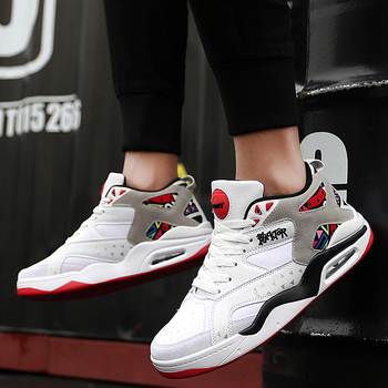 Jordan Basketball Shoes For Men | Retro Professional Air Cushion Basketball Shoes Men Sport Jordan Sneakers Men's Breathable Cushion Hook Loop Male Shoes Jordan