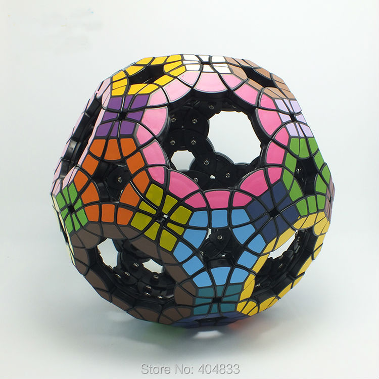VeryPuzzle Void Truncated Icosidodecahedron 64 Faces Cubo