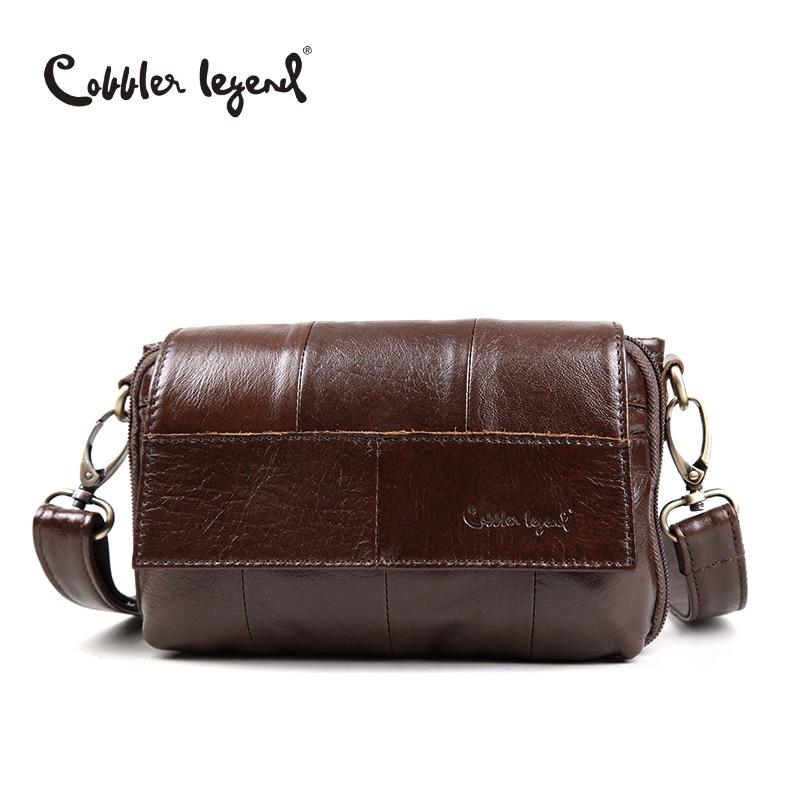 Cobbler legenda eredeti női táska valódi bőr kis kézitáska Vintage Crossbody válltáskák a nők # 803211  t