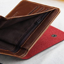 Baellerry Hollow Out Men Leather Wallets Money Bag Short Male Clutch Purse Bag Hasp Slim Credit Card Holder Wallet Cuzdan W015
