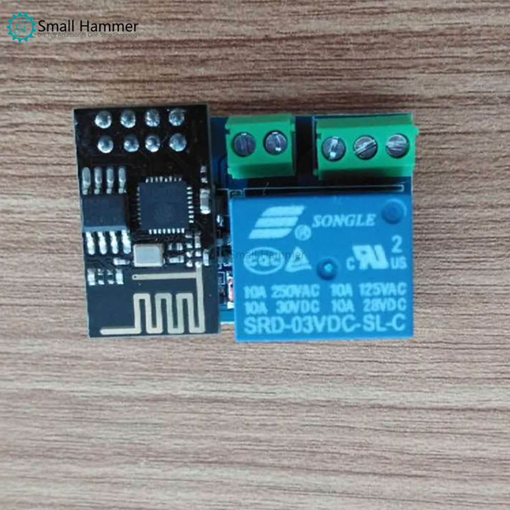 Small Hammer IoT Relay Esp8266 Remote Web Control Smart Home Remote Control Switch Module