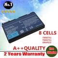 Venta al por mayor nuevos 8 celdas de la batería del ordenador portátil para Acer TravelMate 5310 5320 5520 5520 G 5530 5530 G 5710 5720 6410 envío gratis