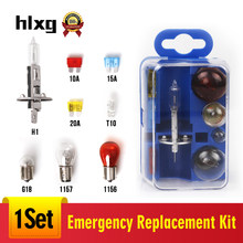 HLXG T10 W5W LED 168 Car Signal Lamp Car Headlight Bulbs (Halogen) H1 Accessories Replacement Kit 1156 1157 G18 T10(China)