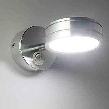 Художественный Нержавеющаясталь покрытие современные светодиодный настенный светильник лампа для дома Освещение бра arandela lamparas де сравне...