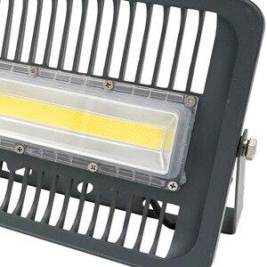 Image 5 - Светодиодный прожектор 30 Вт 50 Вт 100 Вт Наружное освещение AC 220 В 230 в 240 В IP65 Светодиодный прожектор для квадратного сада гаражного судна форма ES RU CN