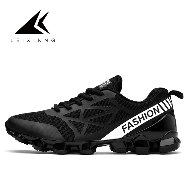 Stylish Sport Free Salmon Run Shoe Black Green Red TPU Breathable Mesh  Spring Running Blade Shoes