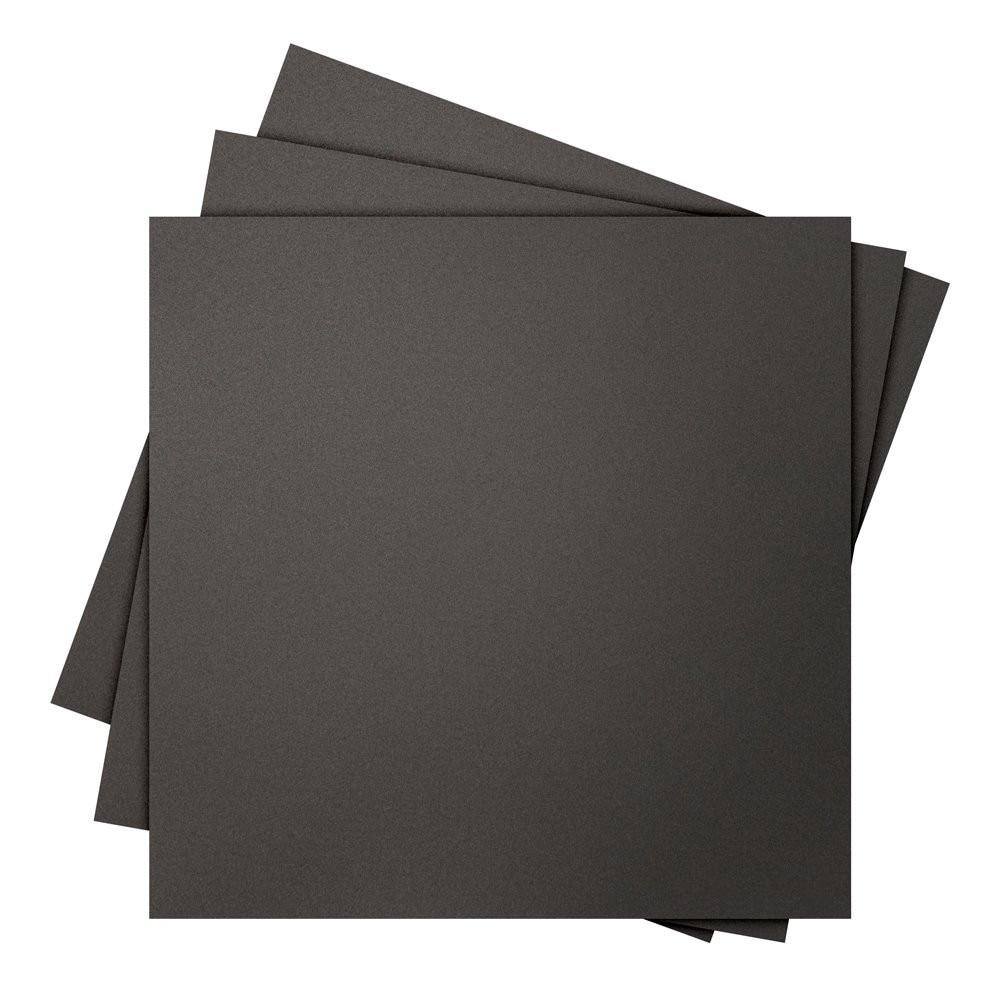 ФОТО 5pcs * 3D print surface 500 x 500mm square, Black (5 Pack)