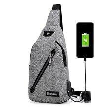 Men Chest Pack Mochila Single Shoulder Strap Back Bag Crossbody Bags for Women Sling Shoulder Bag Back Pack Travel Backpack